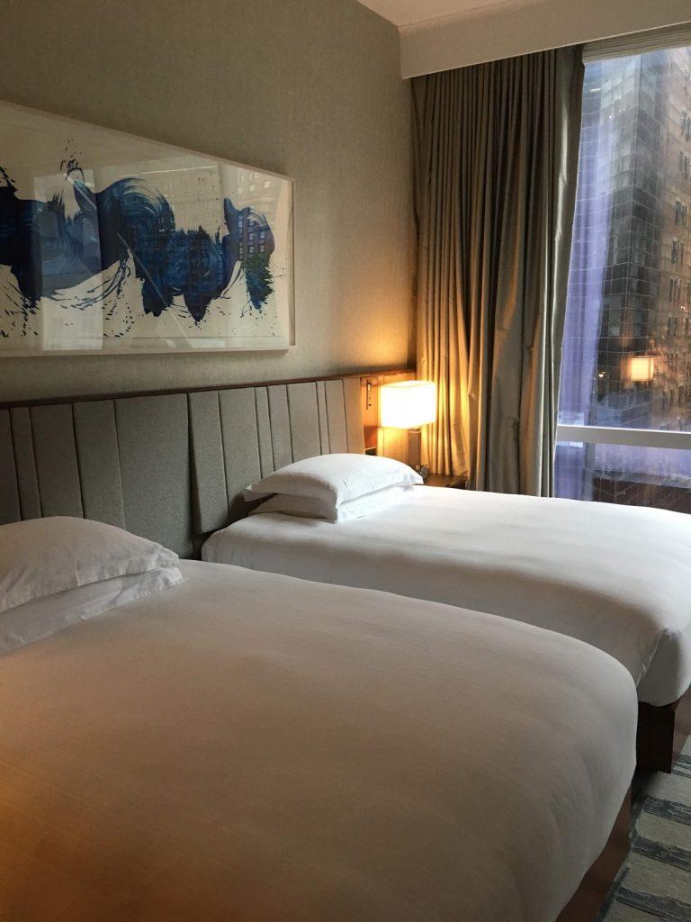 パークハイアットニューヨーク客室・ベッド
